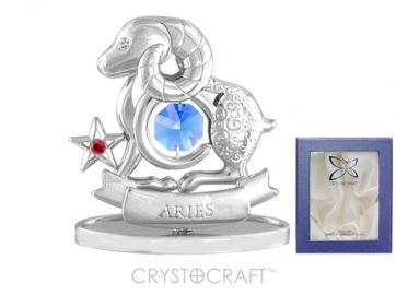 U0257-001-CBLB Сувенир Crystocraft, (ОВЕН)