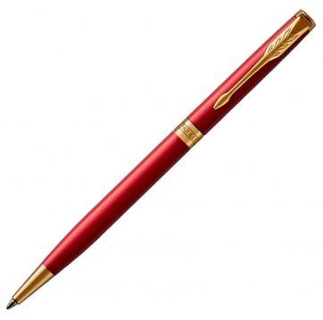1931477 Шариковая ручка Parker (Паркер), ESSENTIAL Sonnet slim Laque Red GT