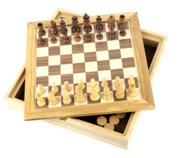 GF005 Шахматы+шашки CRAFTSMAN