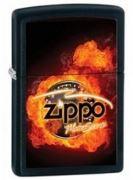 28335 Зажигалка ZIPPO Classic, Black Matte