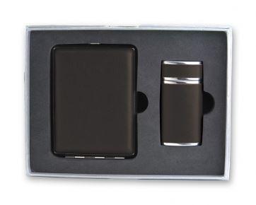 SET-P3155AB Набор S.Quire: портсигар+пепельница
