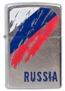207-Russia-Flag Зажигалка Zippo (Зиппо),